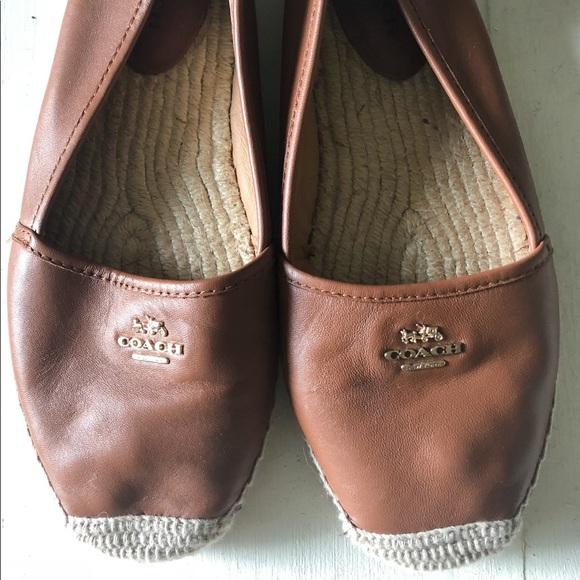 df31d70d248 Coach Shoes - Coach Lambskin Rhodelle Espadrilles